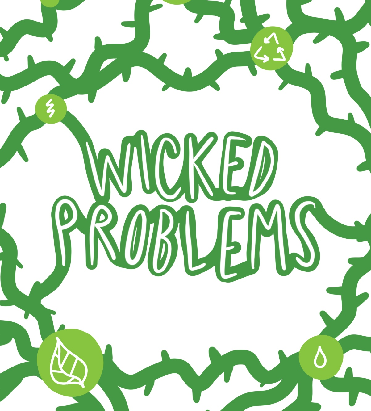 Wicked Problems: Investigating real world problems in the biology classroom (SW 2018) Logo