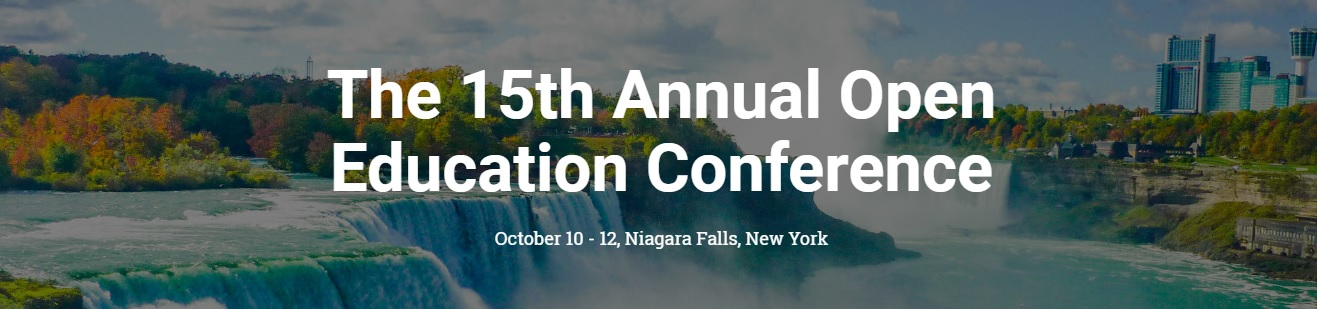 15th Annual Open Education Conference Logo