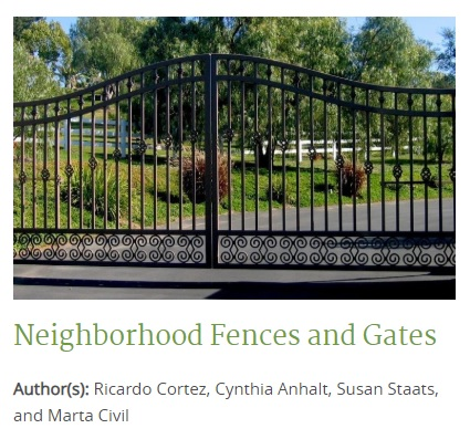 ROW - Fences and Gates