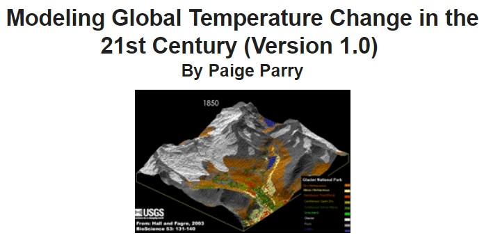 ROW - Modeling Global Temp Change