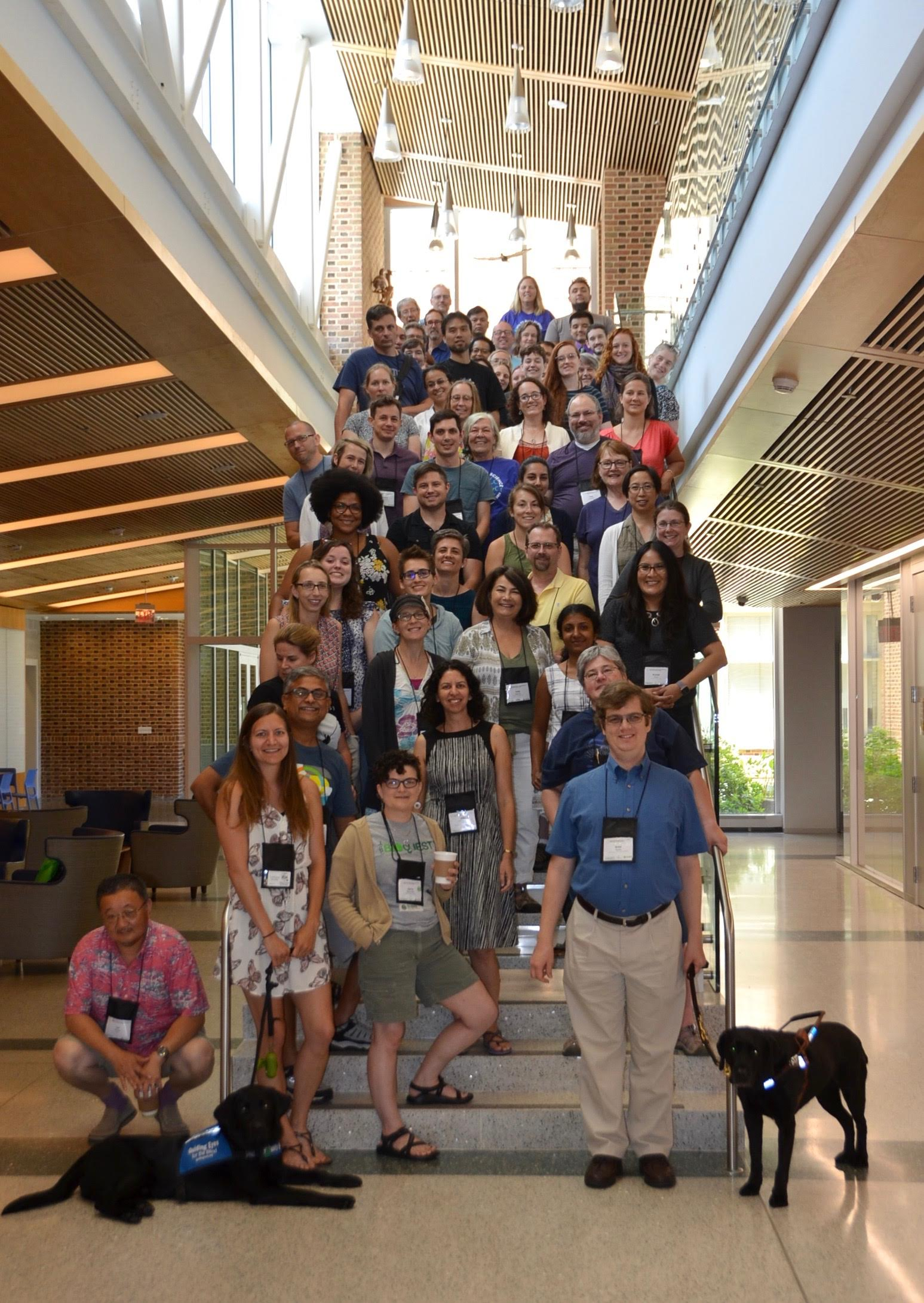 QUBES/BioQUEST Summer Workshop 2019 Group Picture