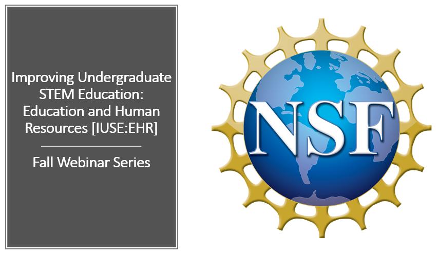 NSF Fall Webinar series announcement and link