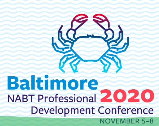 nabt 2020 conference logo