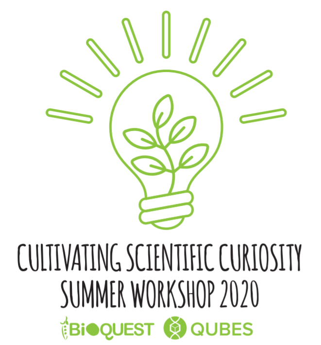 cultivating scientific curiosity summer workshop 2020 logo