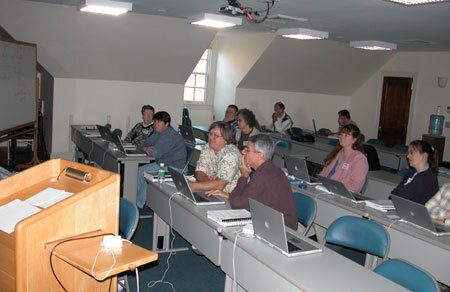 A group of educators in a workshop
