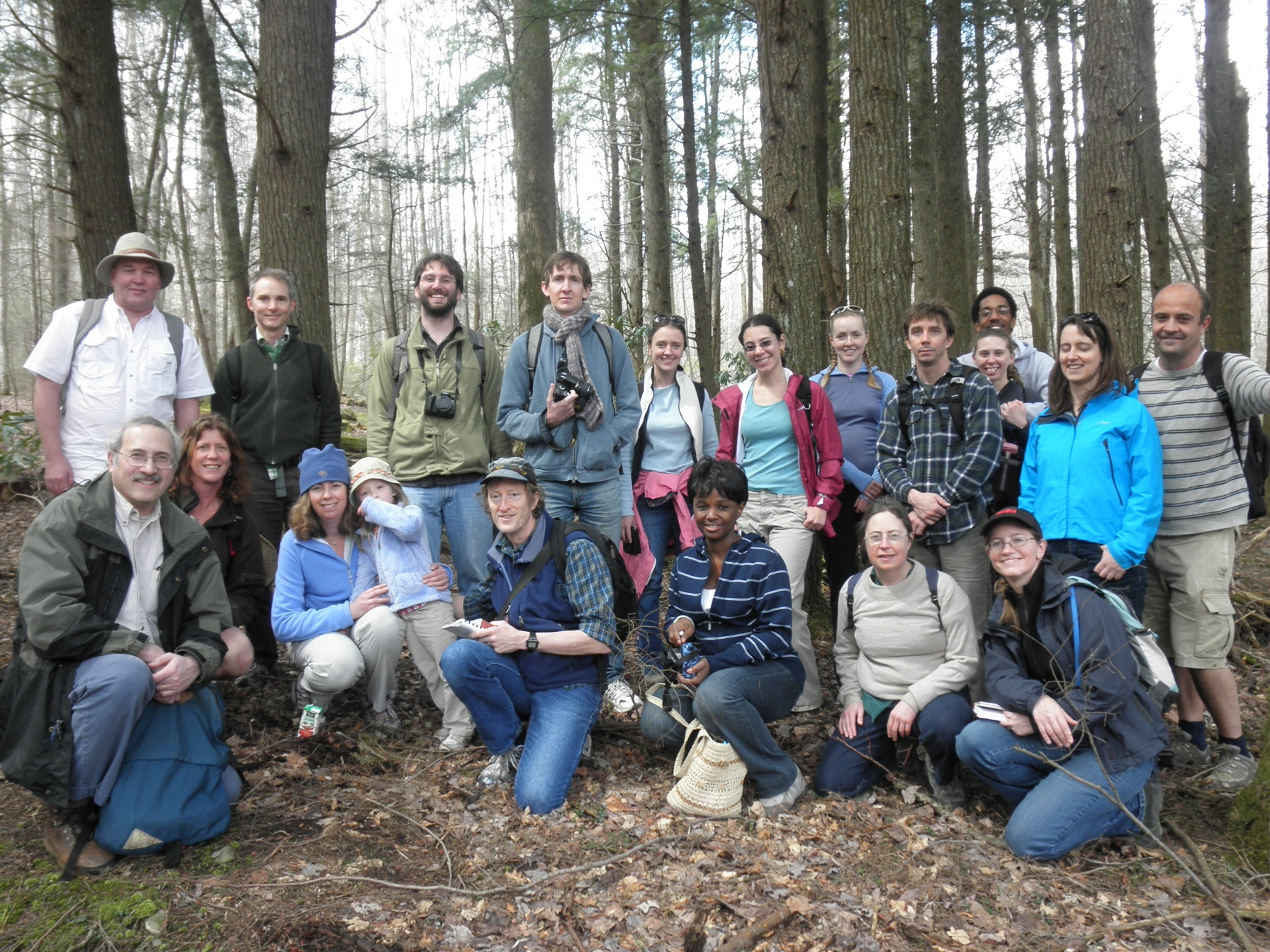 NIMBioS Staff on Annual Hike 2011