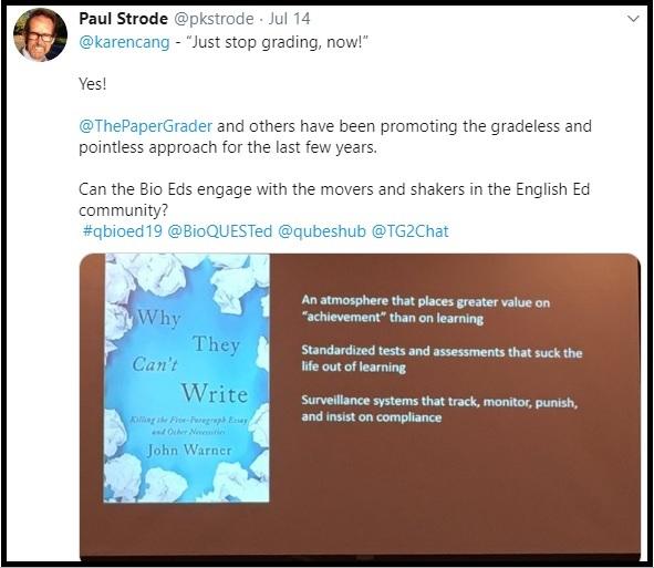 Paul Strode tweet