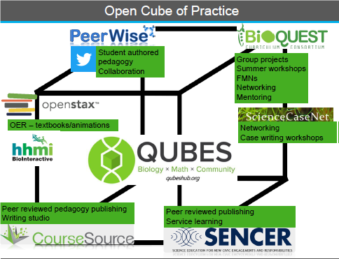Open Cube of Practice Image from Poster