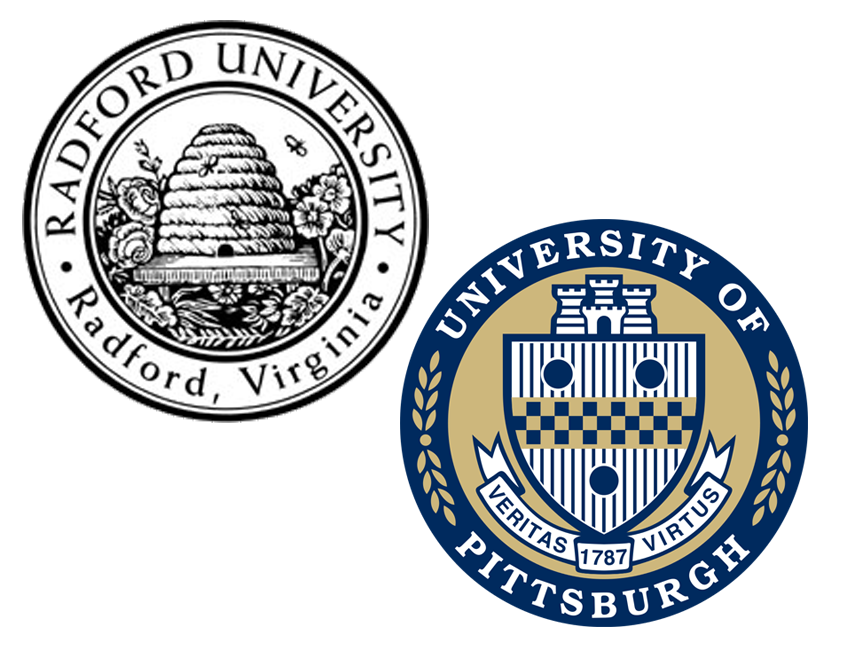 Radford University and University of Pittsburgh