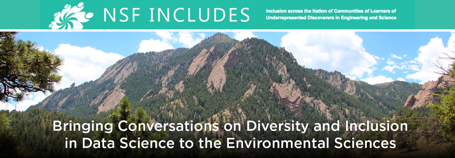 NSF INCLUDES CONFERENCE Bringing Conversations on Diversity and Inclusion in Data Science to the Environmental Sciences
