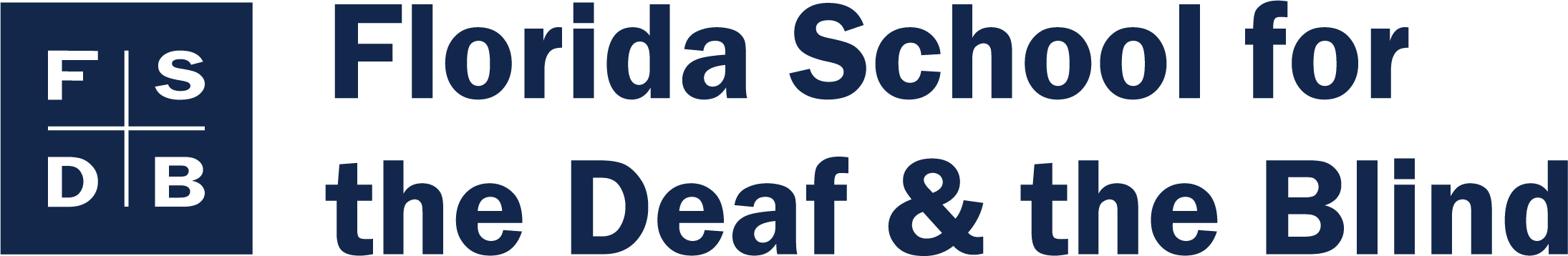 florida school for the deaf and blind logo