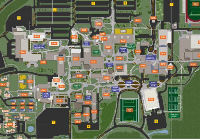 rit campus map