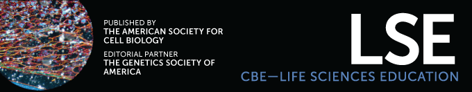 CBE-Life Sciences Education Logo