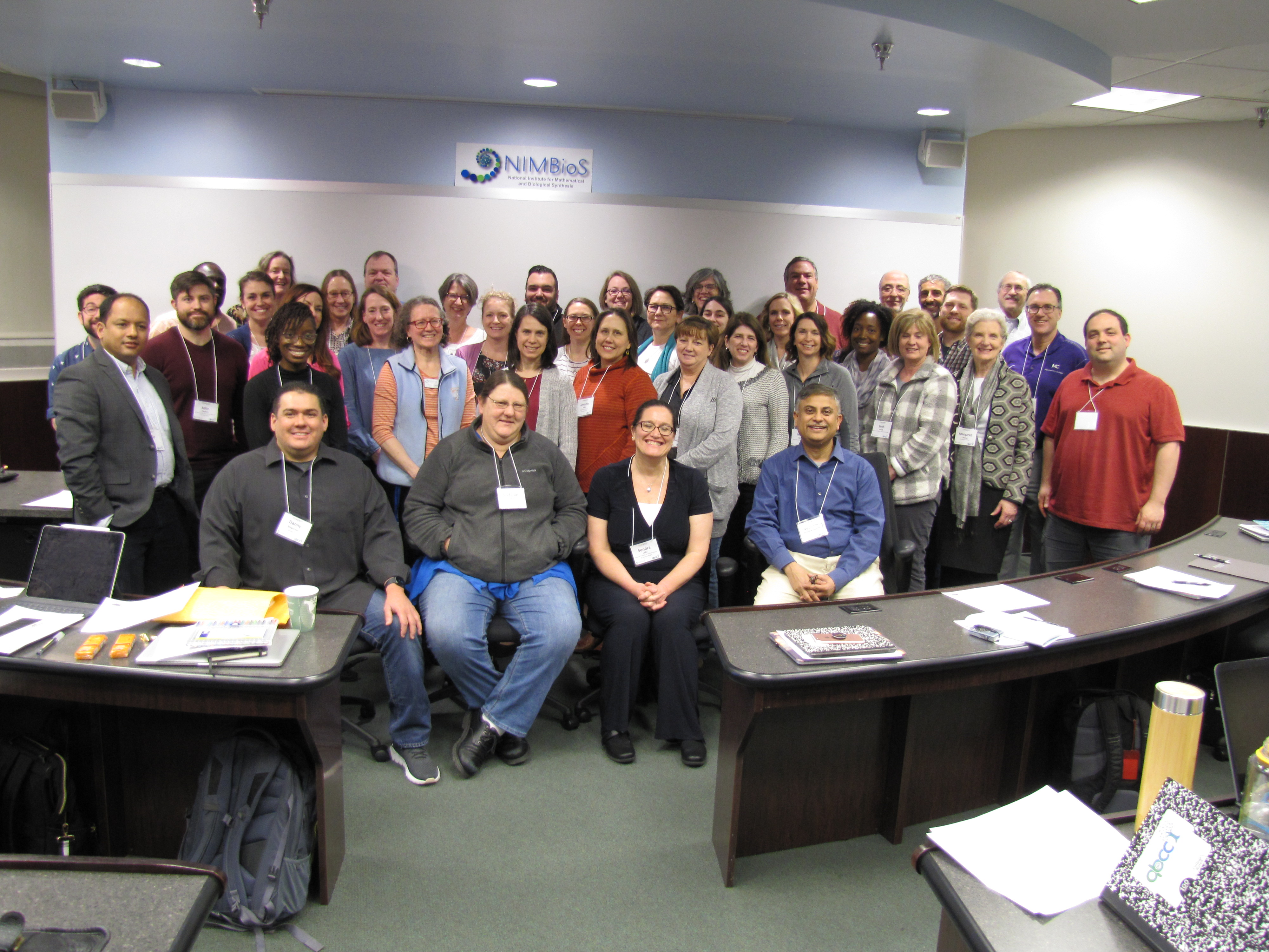 group photo of qb@cc attendees