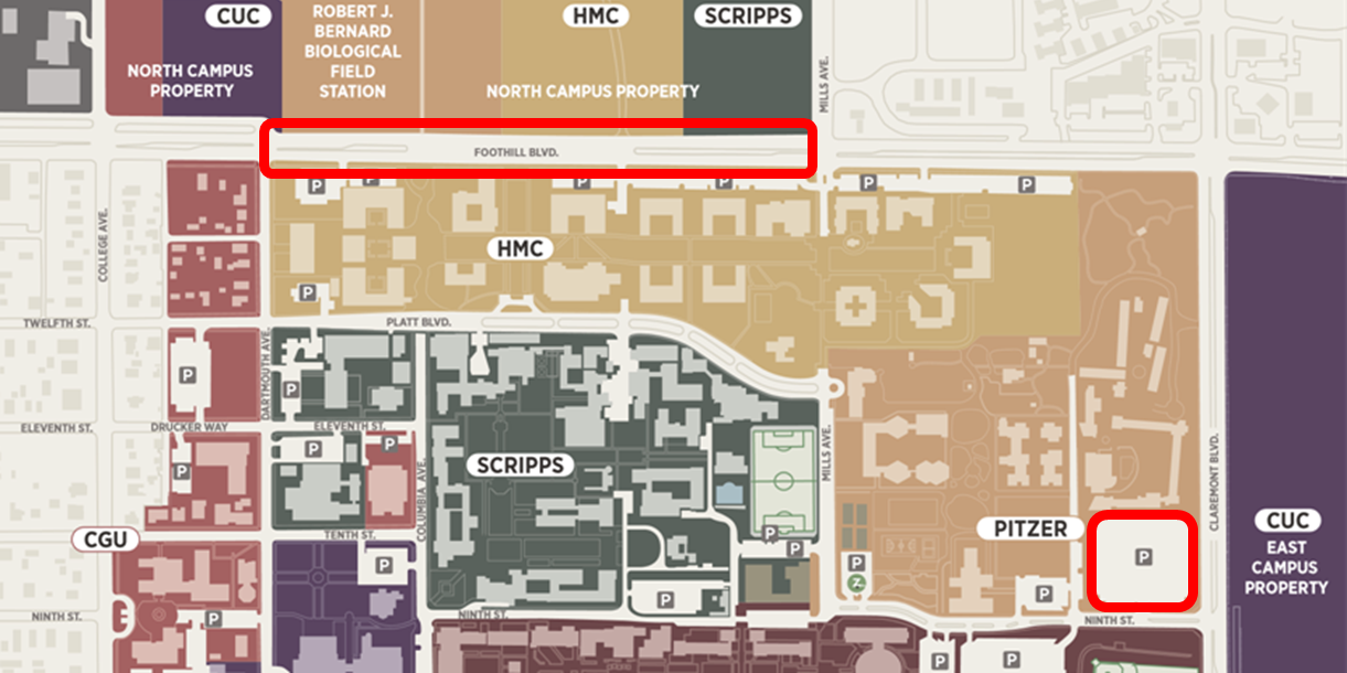 Claremont Colleges Campus Map.Qubes Group Wicked Problems Investigating Real World Problems In