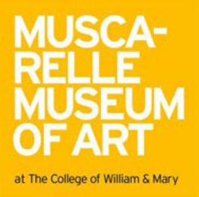 muscarelle museum of art yellow logo
