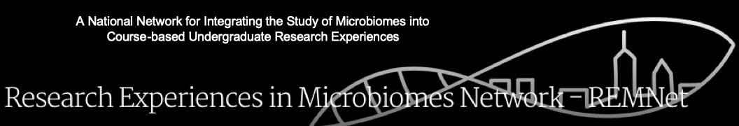 Research Experiences in Microbiomes Network - a national network for integrating the study of microbiomes into course-based undergraduate research experiences