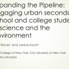 Expanding the pipeline: Engaging urban secondary school and college students in science and the environment