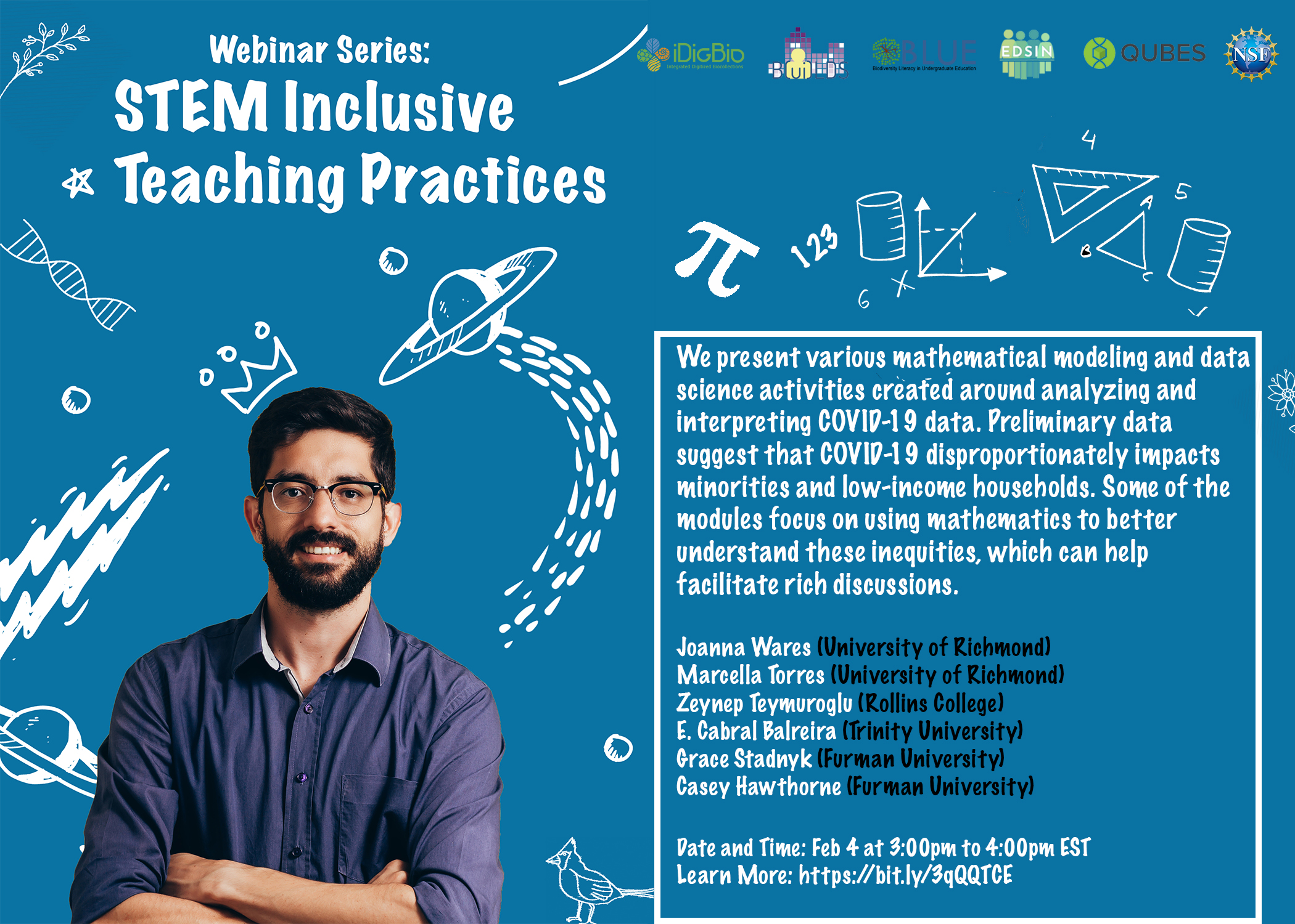 STEM Inclusive Teaching Practices Webinar Series: Socially Relevant Teaching in the Time of COVID-19