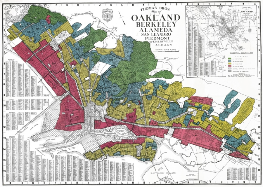The Legacy of Redlining in Oakland, CA