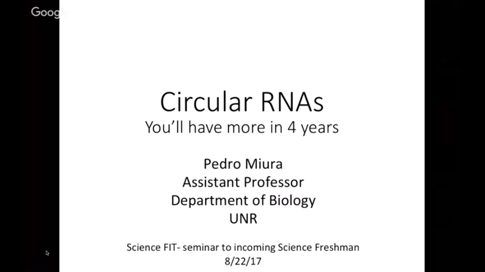 QUBES - Resources: Aging and Circular RNAs