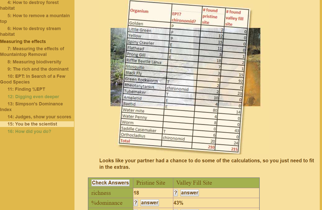 QUBES - Resources: MathBench: Biodiversity Assessment of